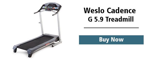 weslo cedance treadmill